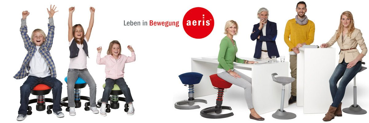 Aeris: motion chairs for children and adults